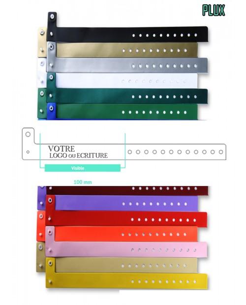 Bracelet Vinyle Plux & Uno